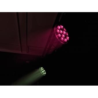 EUROLITE LED PAR-64 QCL 12x8W floor bl #12