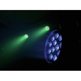 EUROLITE LED PAR-64 QCL 12x8W floor bl #14
