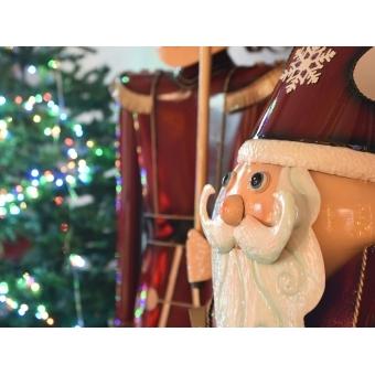 EUROPALMS Santa Claus, Metal, 195cm, red #4