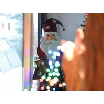 EUROPALMS Santa Claus, Metal, 195cm, red #5