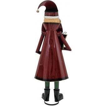 EUROPALMS Santa Claus, Metal, 150cm, red #2