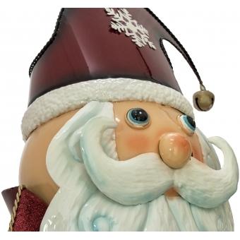 EUROPALMS Santa Claus, Metal, 150cm, red #4