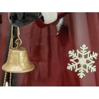 EUROPALMS Santa Claus, Metal, 150cm, red #5