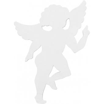 EUROPALMS Silhouette Angel, white, 60cm