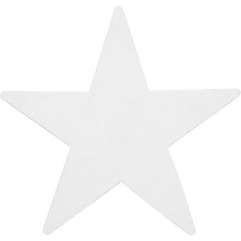 EUROPALMS Silhouette Star, white, 58cm
