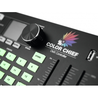 EUROLITE DMX LED Color Chief Controller #6