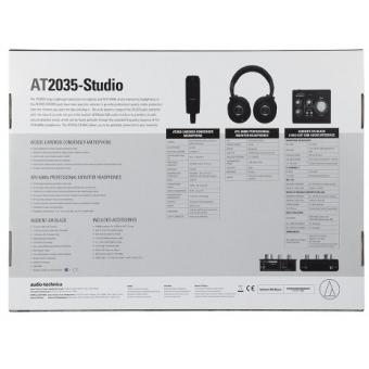 Audio-Technica AT2035 Studio Kit #4