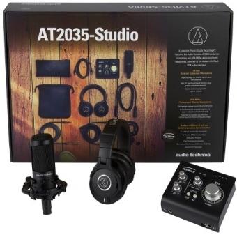Audio-Technica AT2035 Studio Kit