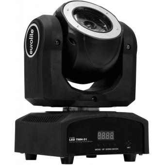 EUROLITE LED TMH-51 Hypno Moving-Head Beam #5