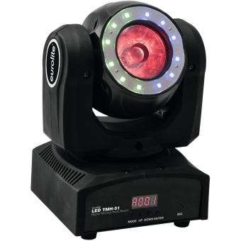 EUROLITE LED TMH-51 Hypno Moving-Head Beam #7
