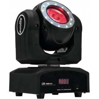 EUROLITE LED TMH-51 Hypno Moving-Head Beam #10