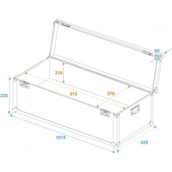 ROADINGER Universal Transport Case 100x40x30cm #5