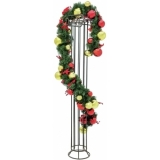 EUROPALMS Premium Fir Garland, decorated, 270cm