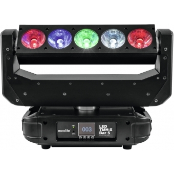 EUROLITE LED TMH-X Bar 5 Moving-Head Beam #8