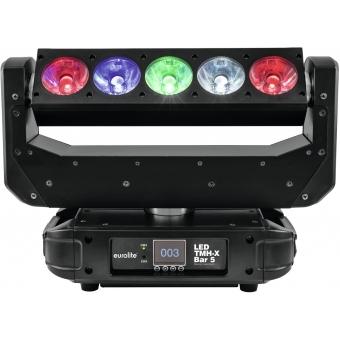 EUROLITE LED TMH-X Bar 5 Moving-Head Beam #8