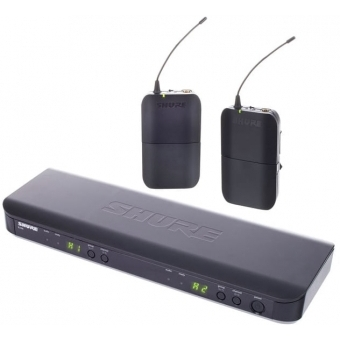 Sistem wireless Shure BLX188 receiver+2 bodypack