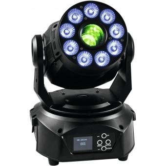 EUROLITE LED TMH-75 Hybrid Moving-Head Spot/Wash COB #12