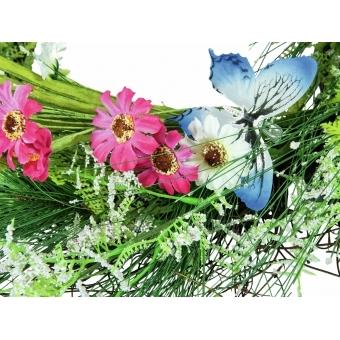 EUROPALMS Wild Flower Wreath 65cm #3