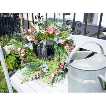 EUROPALMS Wild Flower Wreath 65cm #7
