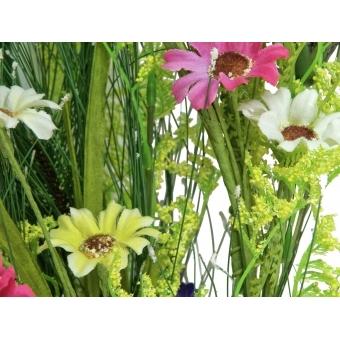 EUROPALMS Wild Flower Spray, Yellow, 140cm #3