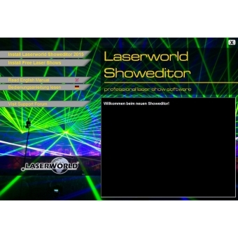 LASERWORLD Showeditor Set - Lasershow Software #3
