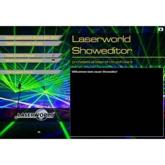 LASERWORLD Showeditor Set - Lasershow Software #3