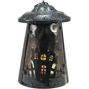 EUROPALMS Lantern Ghost House, 23cm