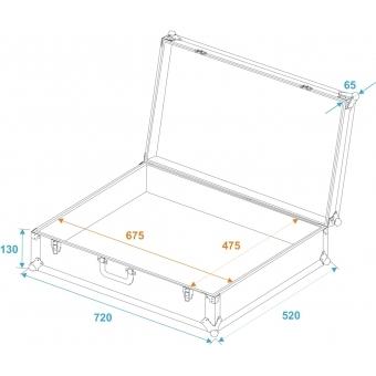 ROADINGER Universal Case Pick 70x50x17cm #5