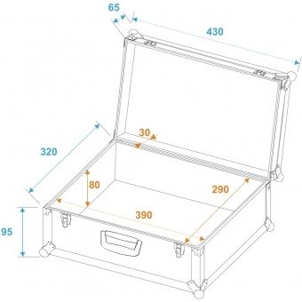 ROADINGER Universal Divider Case Pick 42x32x14cm #6