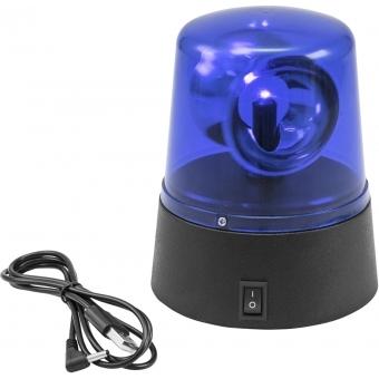 EUROLITE LED Mini Police Beacon blue USB/Battery #2