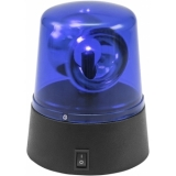 EUROLITE LED Mini Police Beacon blue USB/Battery
