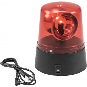 EUROLITE LED Mini Police Beacon red USB/Battery #2