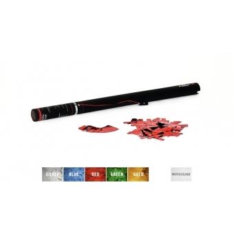TCM FX Electric Confetti Cannon 80cm, red metallic