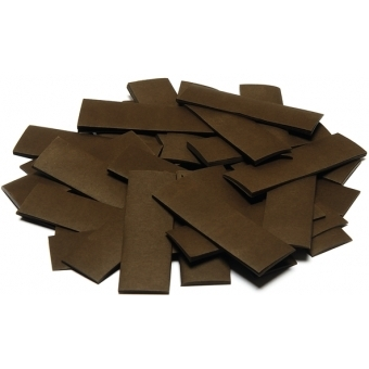 TCM FX Slowfall Confetti rectangular 55x18mm, brown, 1kg