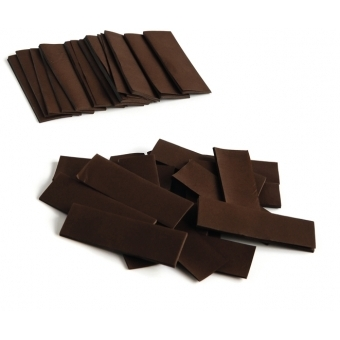 TCM FX Slowfall Confetti rectangular 55x18mm, brown, 1kg #2