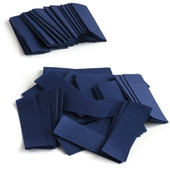 TCM FX Slowfall Confetti rectangular 55x18mm, dark blue, 1kg #2