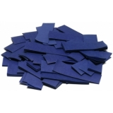 TCM FX Slowfall Confetti rectangular 55x18mm, dark blue, 1kg