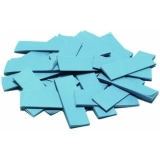 TCM FX Slowfall Confetti rectangular 55x18mm, light blue, 1kg
