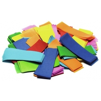 TCM FX Slowfall Confetti rectangular 55x18mm, pink, 1kg #2