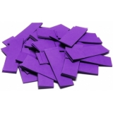 TCM FX Slowfall Confetti rectangular 55x18mm, purple, 1kg