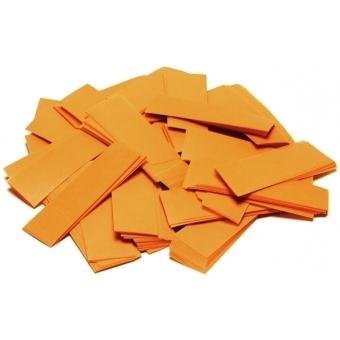 TCM FX Slowfall Confetti rectangular 55x18mm, orange, 1kg