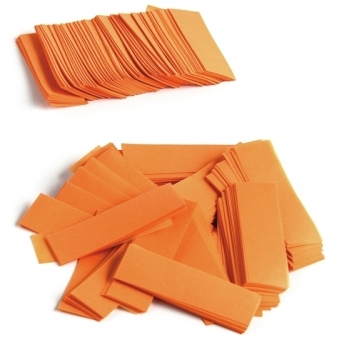 TCM FX Slowfall Confetti rectangular 55x18mm, orange, 1kg #2