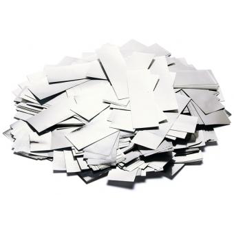TCM FX Metallic Confetti rectangular 55x18mm, silver, 1kg