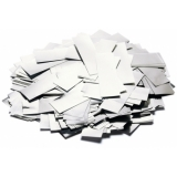 TCM FX Metallic Confetti rectangular 55x18mm, silver, 1kg
