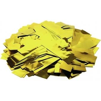 TCM FX Metallic Confetti rectangular 55x18mm, gold, 1kg