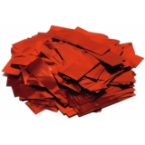 TCM FX Metallic Confetti rectangular 55x18mm, red, 1kg