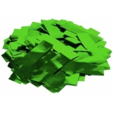TCM FX Metallic Confetti rectangular 55x18mm, green, 1kg