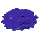 TCM FX Metallic Confetti rectangular 55x18mm, blue, 1kg