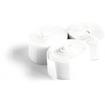 TCM FX Slowfall Streamers 10mx1.5cm, white, 32x