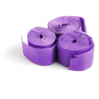 TCM FX Slowfall Streamers 10mx1.5cm, purple, 32x